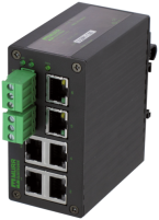 TREE 6TX METALL - UNMANAGED SWITCH - 6 PORTS