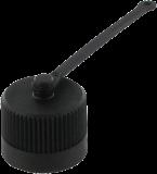 LOCKING CAP 7/8'' (MINI PLASTIC
