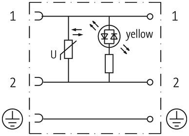 SVS ECO LED VALVE PLUG FORM A 18MM LED VDR 24V